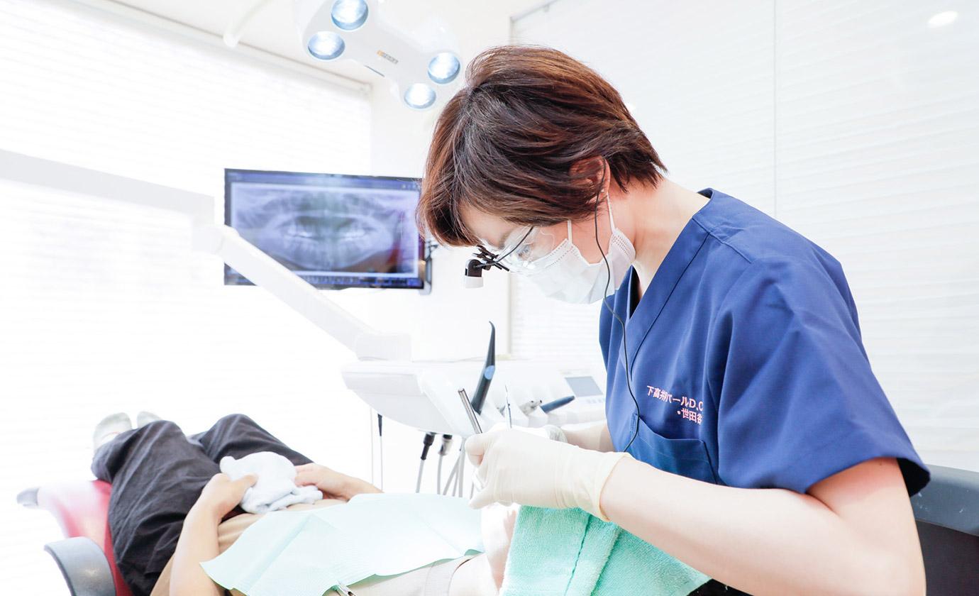 歯科用レーザーの活用